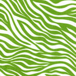 Nu Suede Lime Zebra Bedding, Accessories & Room Decor
