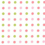 Tickled Pink Dots Bedding, Accessories & Room Decor