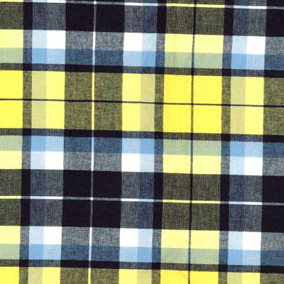 Blue Moon Plaid Fabric