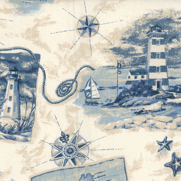 Hilton Head Nautical Fabric