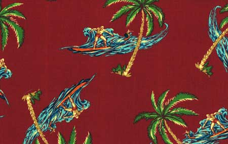 Hang Ten Sienna Fabric