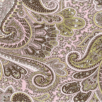 Miss Priss Paisley Fabric