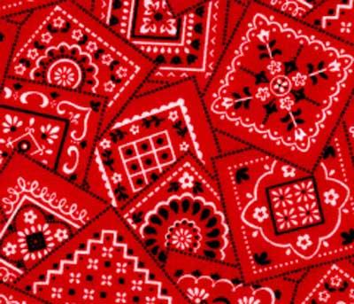 Red bandana bedding accessories amp room decor
