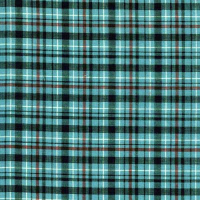 Wild Horses Plaid Fabric