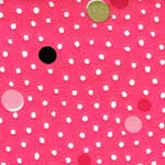 Deco Dots Pink Waverly Bedding & Accessories