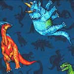Dinosaurs Blue Bedding & Accessories