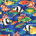 Pacific Reef Tropical Fish Bedding & Accessories