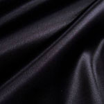 Black Satin Bedding & Accessories