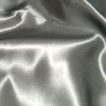 Silver Satin Bedding & Accessories