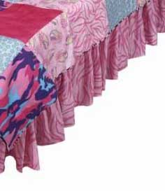 Ruffled Bed Skirts