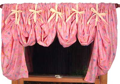Tied Balloon Valances