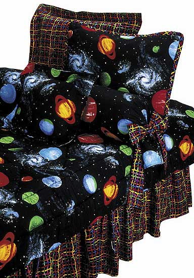 planet and moons comforter - photo #4