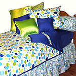 XL Twin Dorm Bedding Comforters, Huggers, Pillows and Accessories