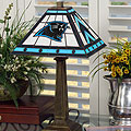 NFL Mission Style Stained Glass Table Lamp