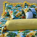 Surfer Girl Hawaiian Bedding