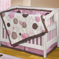 Oh BeBe Girl Crib Quilt Set