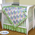 Soft Baby Crib Quilt Set