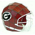 NCAA Football Stained Glass Helmet Lights