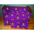 LSU Louisiana State Tigers Crib & Nursery Baby Bedding