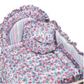 Posies Pink Crib Bedding, Canopies & Accessories