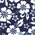Navy Hibiscus - Maui Bedding California Dreamin, Canopies & Accessories