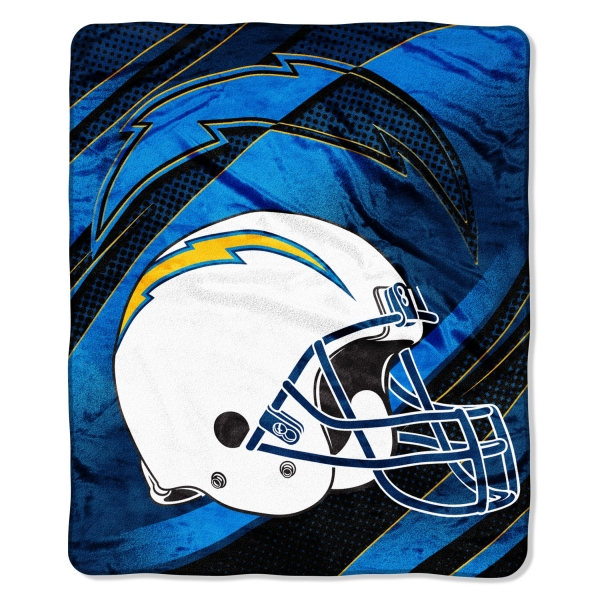"San Diego Chargers Car Accessories: San Diego Chargers NFL Micro Raschel Blanket 50"" X 60"""