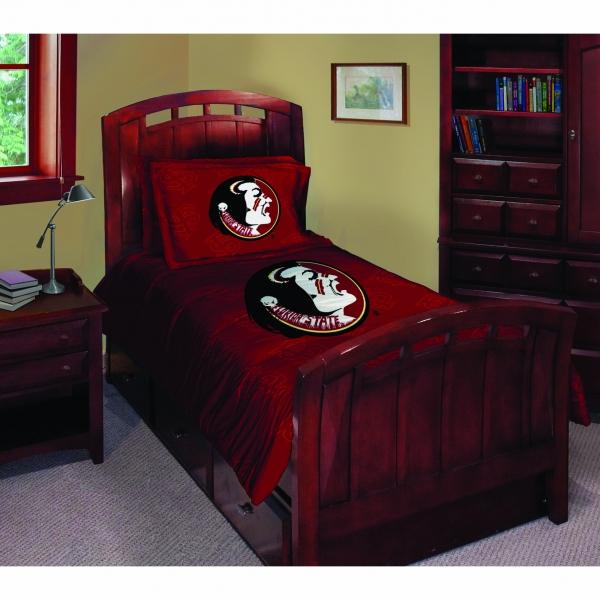 Florida State Fsu Seminoles Ncaa College Twin Comforter