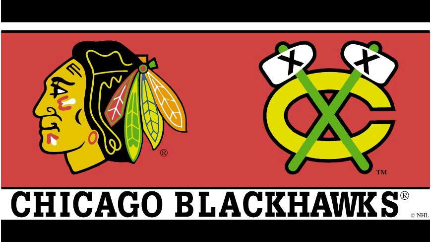 Chicago Blackhawks Wallpaper Border