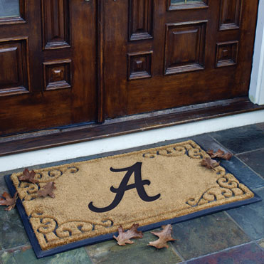 Alabama Crimson Tide Ncaa College Rectangular Outdoor Door Mat