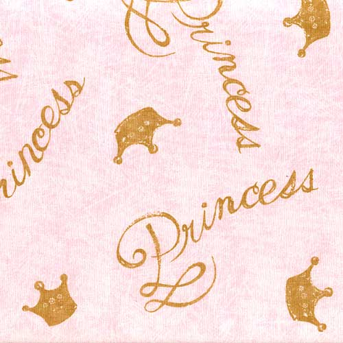 Little Dancer Pink Crown Full Queen Size Duvet Cover
