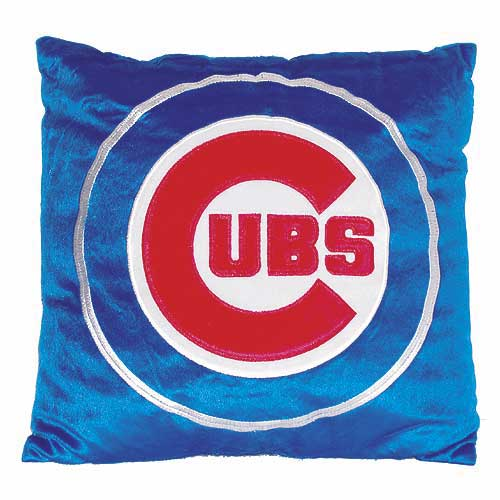 Chicago Cubs Novelty Plush Pillow