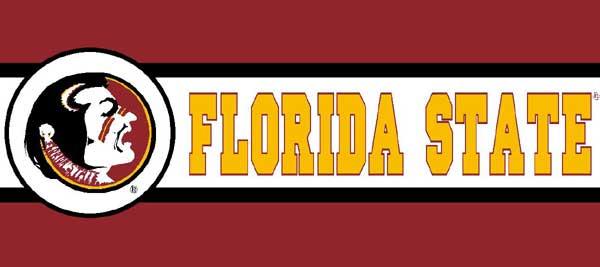 Florida Seminoles 7 Quot Tall Wallpaper Border