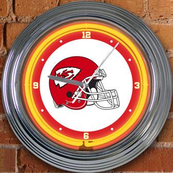 Kansas City Chiefs Nfl 15 Quot Neon Wall Clock