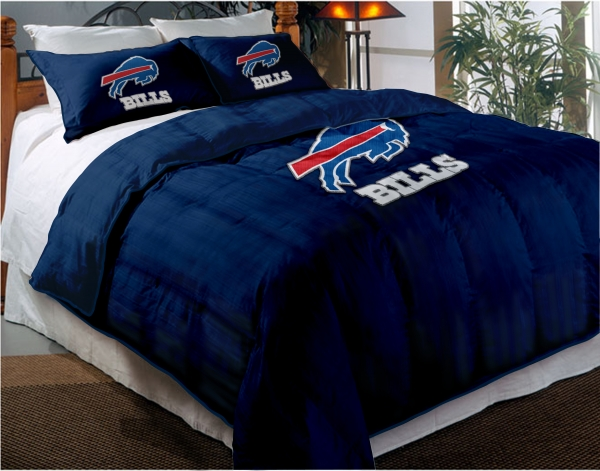 Buffalo Bills Nfl Twin Chenille Embroidered Comforter Set
