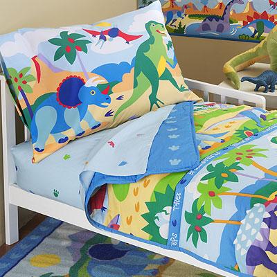 Olive Kids Dinosaurland Toddler Sheet Set