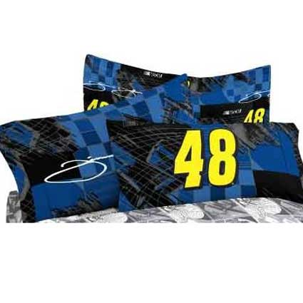 Jimmie Johnson 48 Pillow Case