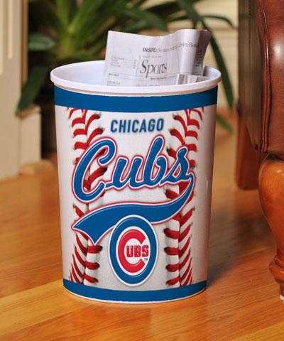 Chicago Cubs Mlb Office Waste Basket