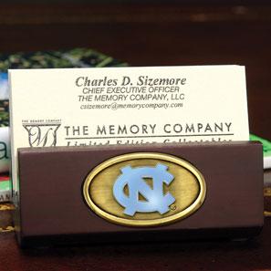 North Carolina Tarheels Unc Ncaa College Business Card Holder Zoom