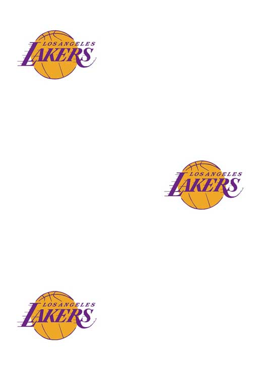 Los Angeles Lakers Logo Wallpaper Double Roll