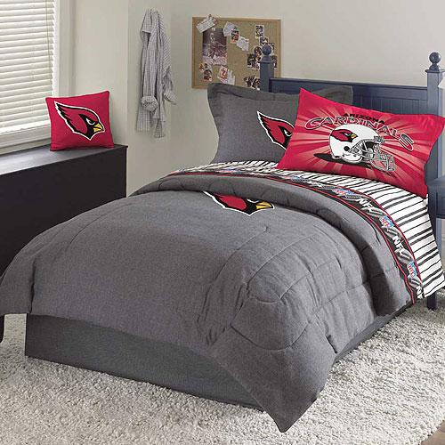 Arizona Cardinals Nfl Team Denim Twin, Arizona Cardinals Queen Size Bedding