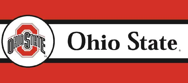 Ohio State Buckeyes 7 Quot Tall Wallpaper Border