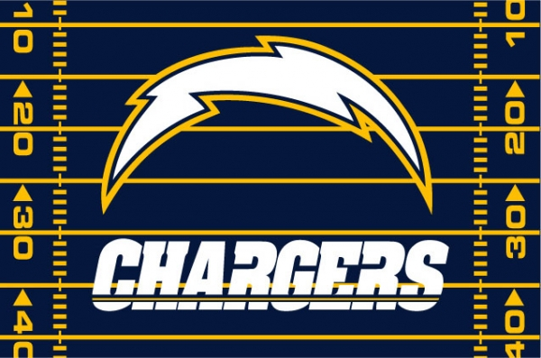 San Diego Chargers Nfl 39 Quot X 59 Quot Tufted Rug
