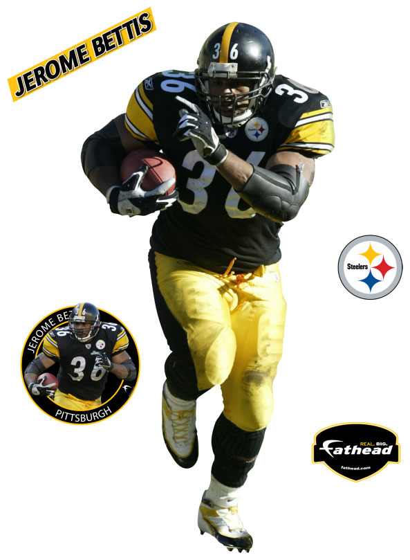 Jerome Bettis Fathead Nfl Wall Graphic