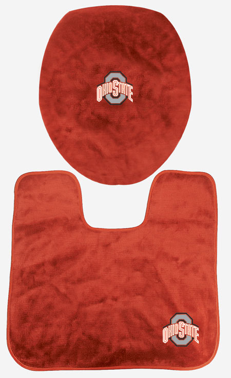 ohio state buckeyes bath set