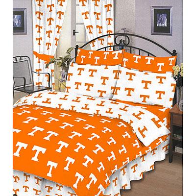 Tennessee Vols 100 Cotton Sateen Shower Curtain Orange