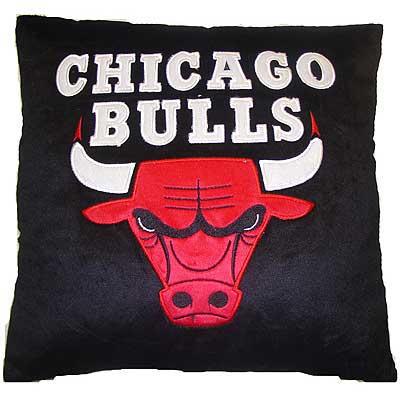 Chicago Bulls Novelty Plush Pillow