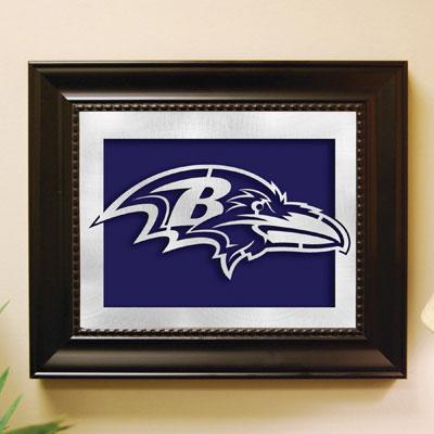 Baltimore Ravens Nfl Laser Cut Framed Logo Wall Art