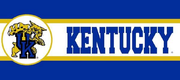 Kentucky Wildcats 7 Tall Wallpaper Border