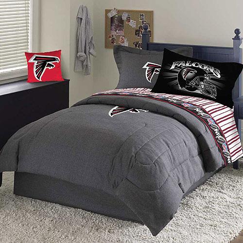 Atlanta Falcons Nfl Team Denim Queen Comforter Sheet Set