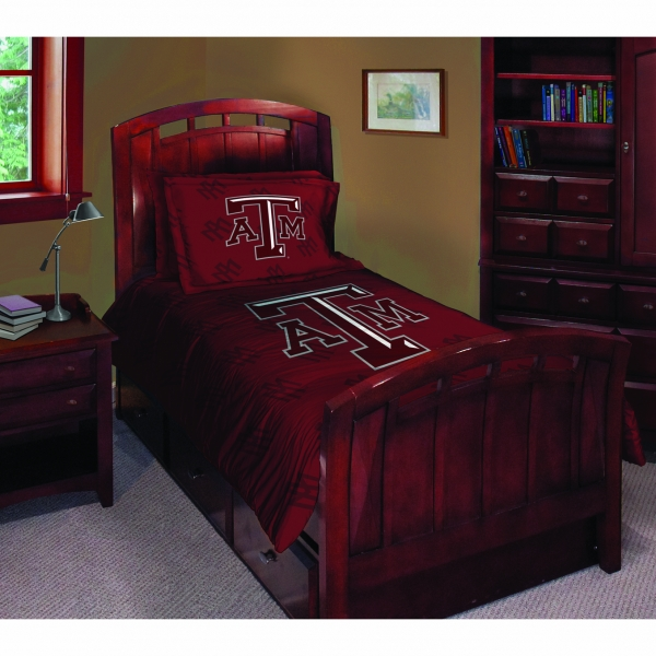 Texas A Amp M Aggies Ncaa College Twin Comforter Set 63 Quot X 86 Quot